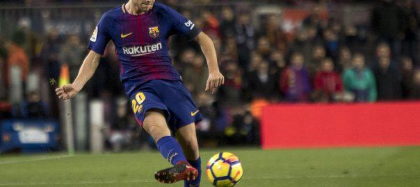 Barcelona mit Sergi Roberto Carnicer Vertragslaufzeit ist bis 2022 Jahr