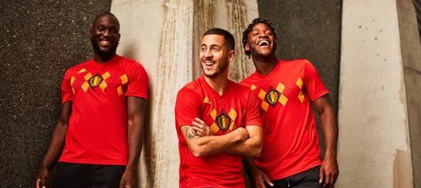 Belgien Nationalmannschaft 2018 World Cup Heimtrikot veröffentlicht