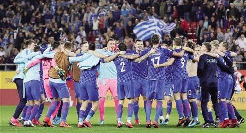 Das Kroatien Team ist zum fünften Mal ins Weltcup eingestiegen