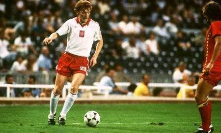 Der erste Fußballstar der Polen Nationalmannschaft ist Zbigniew Boniek