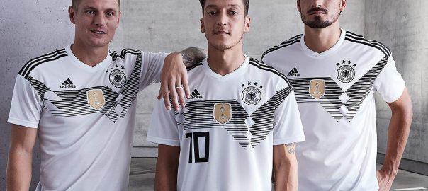Deutschland Nationalmannschaft WM-Fußball-Shirt wurde angekündigt