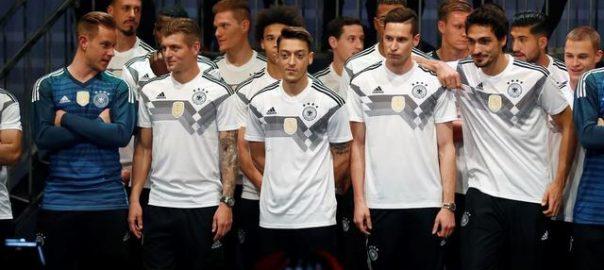 Deutschlands Fußballnationalmannschaft ist der WM-Programmplan