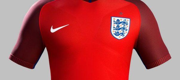 England weg Fußball Shirt Spion-Foto-Exposition